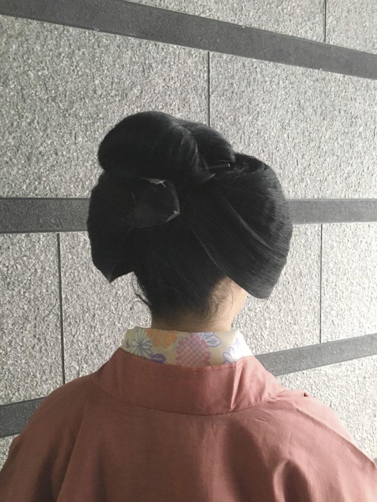 都をどりの髪型(中島田)